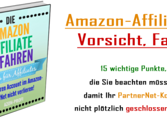 eBook Amazon-Affiliate-Gefahren