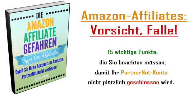 eBook Amazon-Affiliate-Gefahren