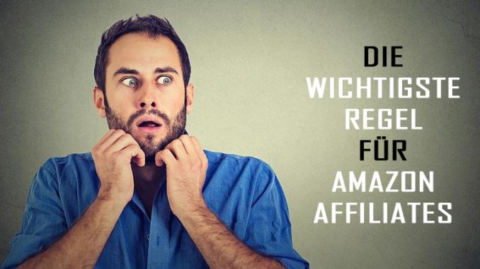 wichtige Regeln Amazon-Affiliates