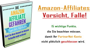 eBook Amazon Affiliate Gefahren