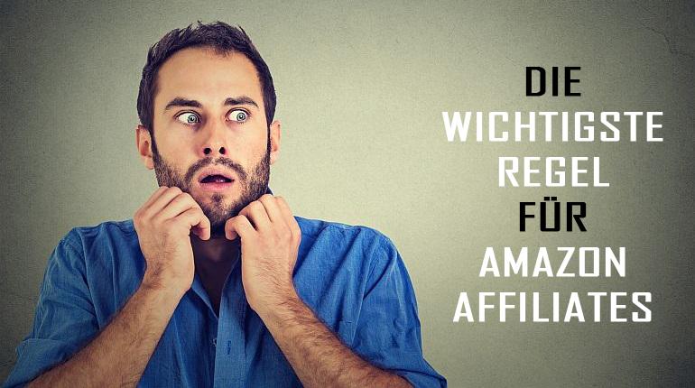 wichtige Regeln Amazon Affiliates